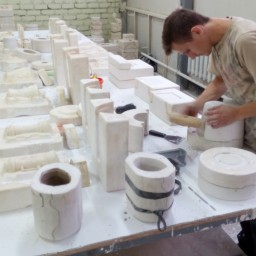Подготовка форм для заливки